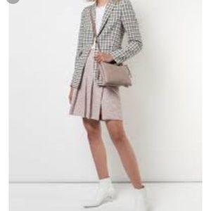 Akris Punto wool plaid mini sz 8